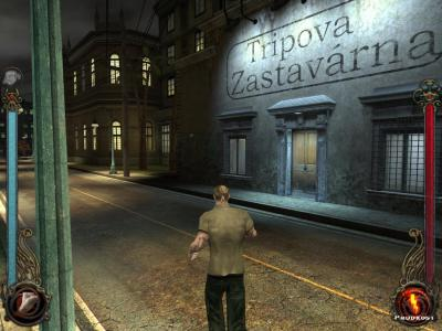 Screen ze hry Vampire: The Masquerade - Bloodlines
