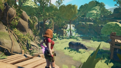 Screen ze hry Jumanji: The Video Game