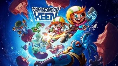 Artwork ke hře Commander Keen