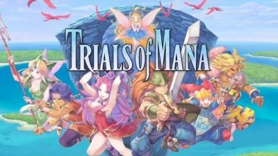Artwork ke hře Trials of Mana