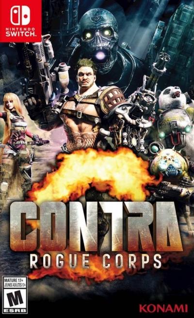Artwork ke hře Contra: Rogue Corps
