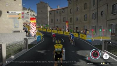 Screen ze hry Tour de France 2019