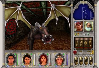 Screen ze hry Might and Magic VI: The Mandate of Heaven
