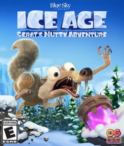Artwork ke hře Ice Age: Scrats Nutty Adventure