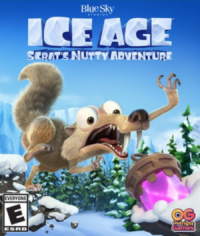 Artwork ke hře Ice Age: Scrats Nutty Adventure