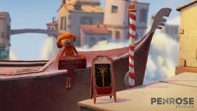 Screen ze hry Allumette