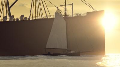 Screen ze hry Google Spotlight Stories Age of Sail