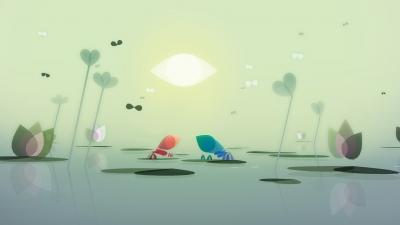 Screen ze hry Google Spotlight Stories Sonaria