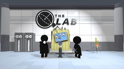 Screen ze hry The Lab