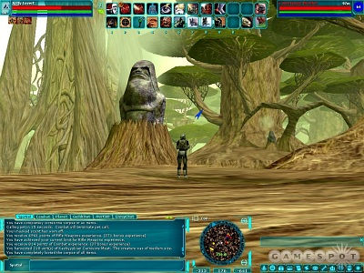 Screen Star Wars Galaxies: Rage of the Wookiees