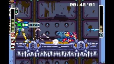 Screen ze hry Mega Man Zero/ZX Legacy Collection
