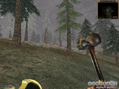 Screen Elder Scrolls III: Bloodmoon, The