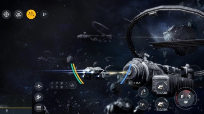 Screen ze hry Second Galaxy