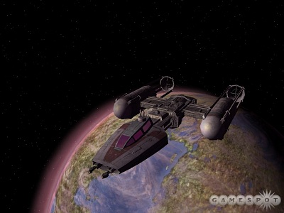 Screen Star Wars Galaxies: Jump to Lightspeed