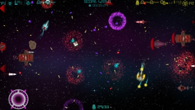 Screen ze hry Super Mega Space Blaster Special Turbo