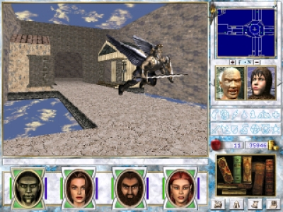 Screen ze hry Might and Magic VII: For Blood and Honor