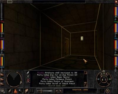 Screen ze hry Wizardry VIII