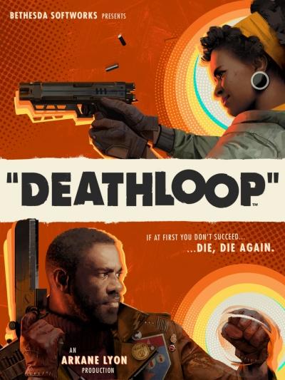 Artwork ke hře Deathloop