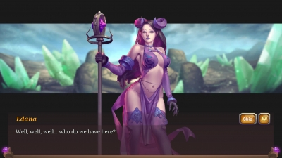 Screen ze hry Crystal Maidens