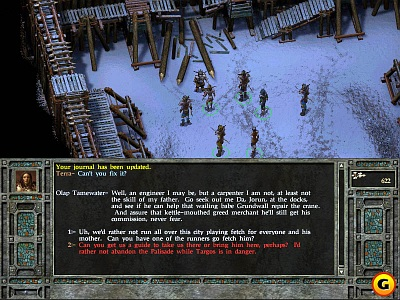 Screen Icewind Dale II