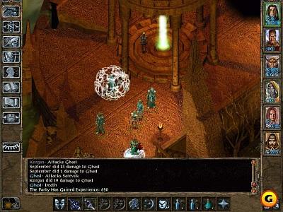 Screen Baldur´s Gate II: Throne of Bhaal
