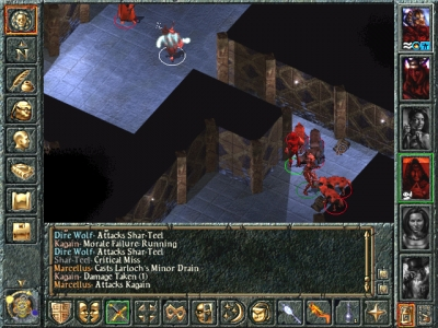 Screen ze hry Baldur´s Gate: Tales of the Sword Coast
