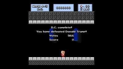 Screen ze hry Super Bernie World