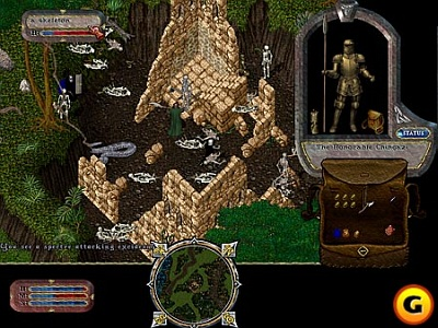Screen Ultima Online: The Second Age