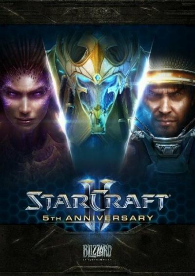 Artwork ke hře StarCraft II: The Complete Trilogy