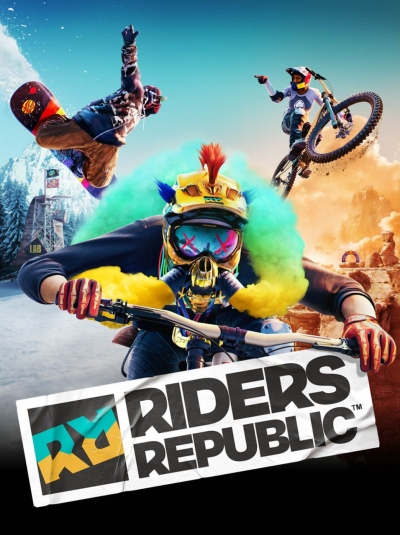 Artwork ke hře Riders Republic