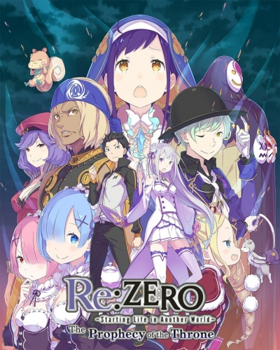 Artwork ke hře Re:Zero -Starting Life in Another World- The Prophecy of the Throne