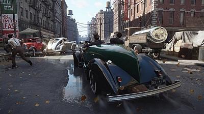 Screen ze hry Mafia: Definitive Edition