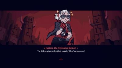 Screen ze hry Helltaker