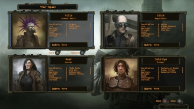 Screen ze hry Wasteland 2