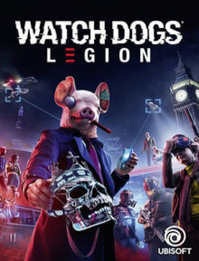 Artwork ke hře Watch Dogs: Legion