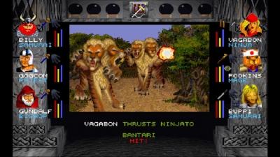 Screen ze hry Wizardry VII: Crusaders of the Dark Savant