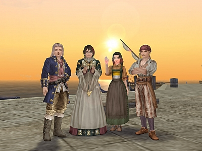 Screen ze hry Uncharted Waters Online