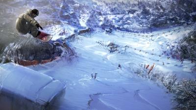 Artwork ke hře Shaun White Snowboarding