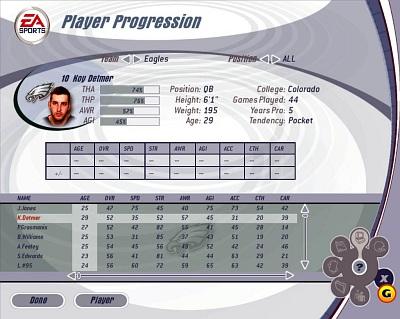 Screen Madden NFL 2003
