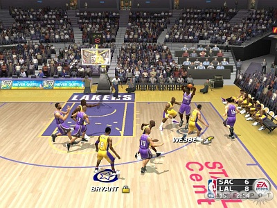 Screen NBA Live 2004