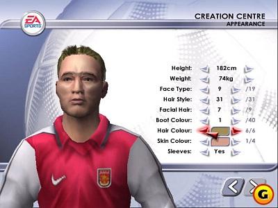 Screen FIFA Soccer 2002