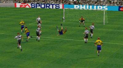 Screen ze hry FIFA: Road to World Cup 98
