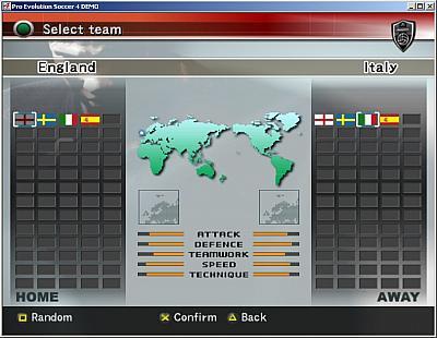 Screen ze hry Pro Evolution Soccer 4