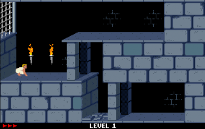 Screen ze hry Prince of Persia