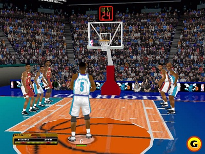 Screen NBA Inside Drive 2000