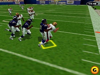 Screen NFL GameDay 99