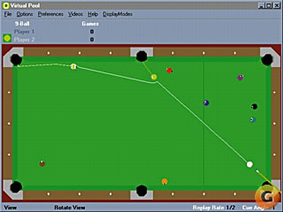 Screen Virtual Pool
