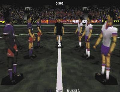 Screen VR Soccer