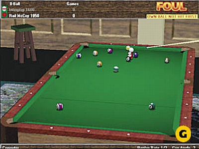 Screen Virtual Pool 2