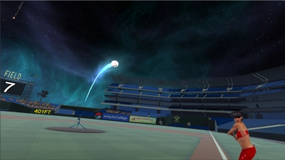 Screen ze hry VR Baseball